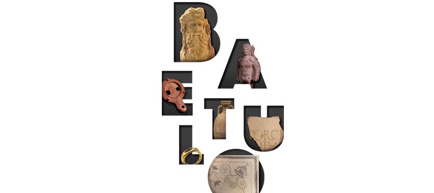 Detall de la imatge gràfica, a artir de la paraula Baetulo.