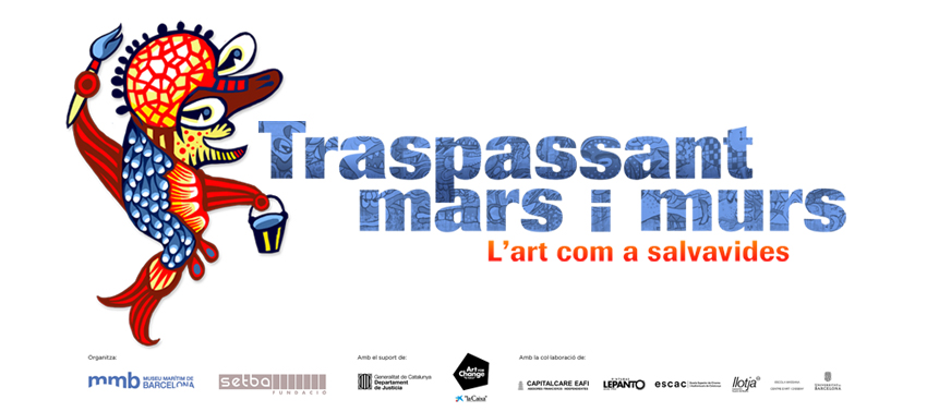 Imatge gràfica de l'exposició a partir d'una de les il·lustracions creades pels artistes participants.